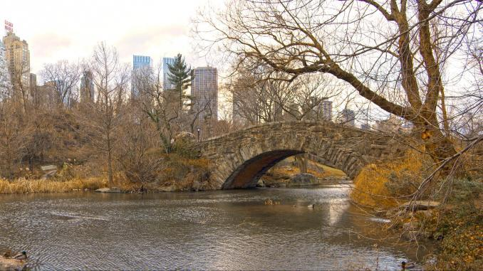 Gapstow Bridge im Central Park