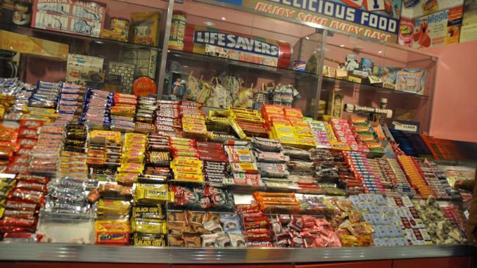 Süßigkeiten New York Shop