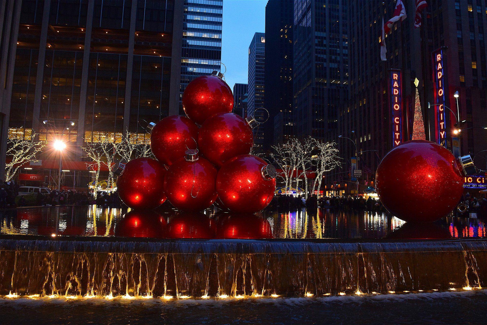 Weihnachten in New York / Dekoration