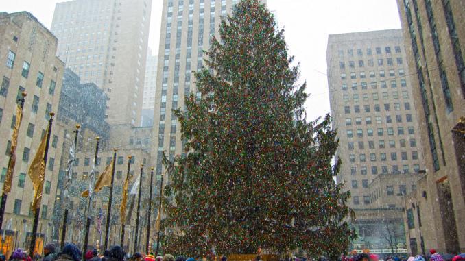 Weihnachtsbaum New York City