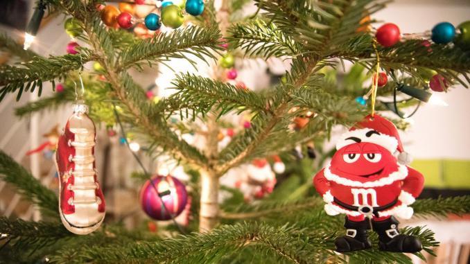 Weihnachtsbaum in den USA
