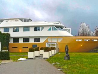 Saunaboot / Wellnessboot Mill Niederlande