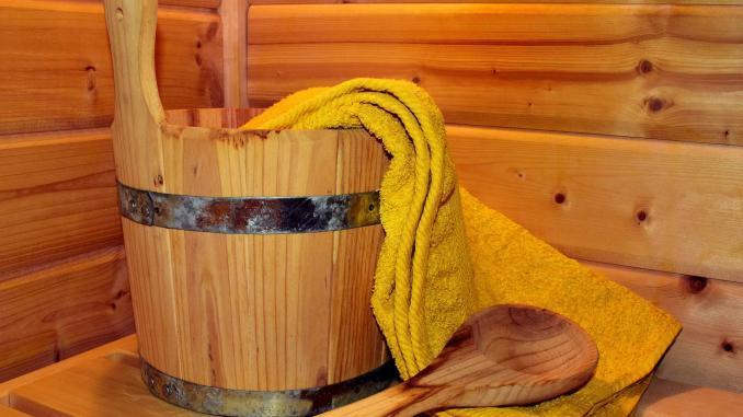 Sauna Symbolbild