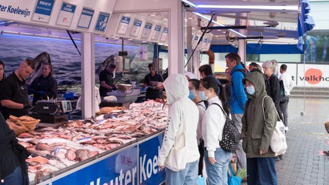 Fisch-Verkaufsstand in Nijmegen