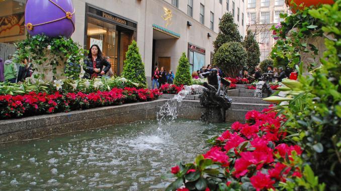 Channel Gardens @ Rockefeller Center