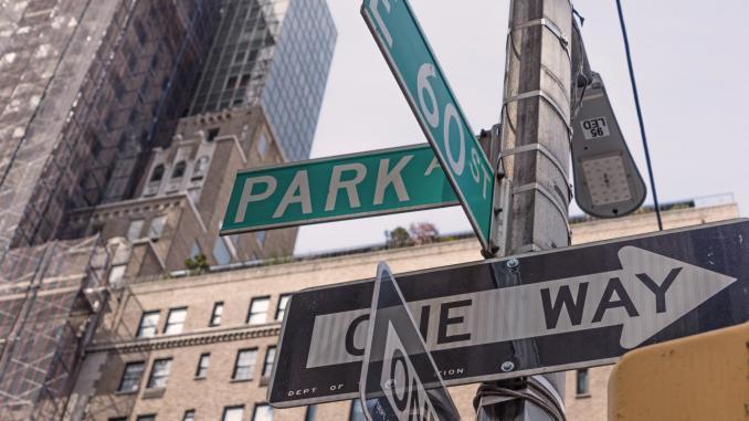 Die erste Reise nach New York City
