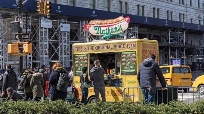 Foodtruck in New York City