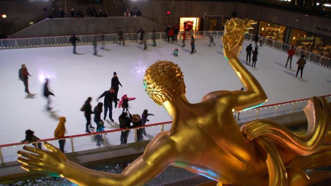 Promotheus Statue am Rockefeller Center