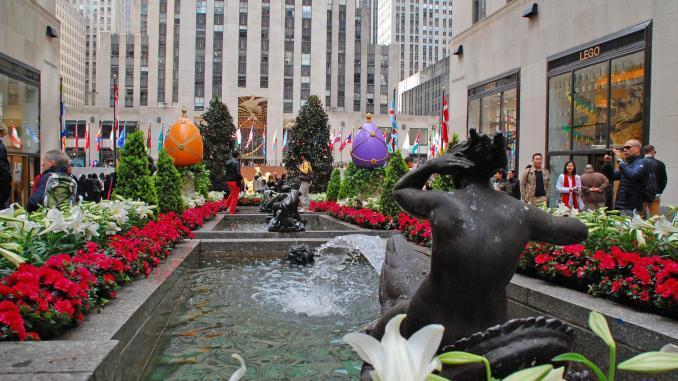 Rockefeller Center: Aktivitäten und Sehenswürdigkeiten