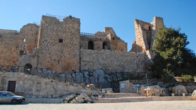 Festung Adschlun (Aijoun) in Jordanien