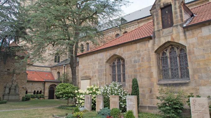 Innenhof St. Petrus Osnabrück