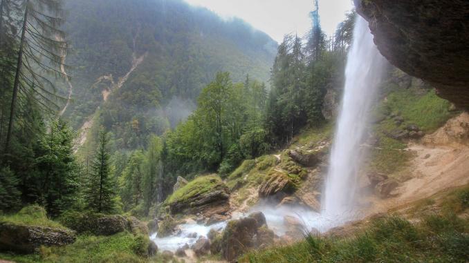 Peričnik Wasserfall in Slowenien