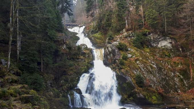 Triberger Wasserfälle in Deutschland