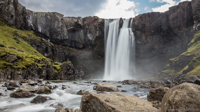 Gufufoss auf Island