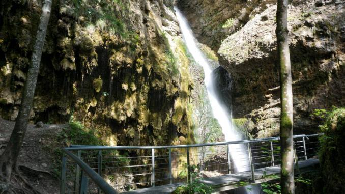 Hinanger Wasserfall in Deutschland