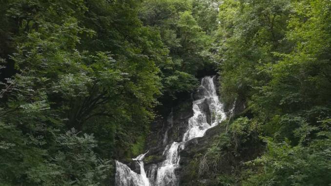 Torc Wasserfall in Irland