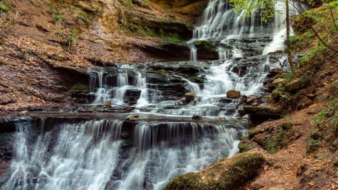 Hörschbachtal Wasserfall in Deutschland