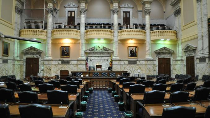 Sitzungssaal des Maryland House of Delegates